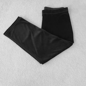 JMS NEW WITH TAGS Black Velour 2X (18/20)